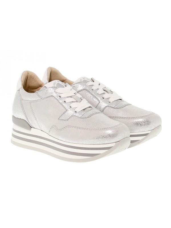 Sneakers Janet Sport Oregon In Leather Janet Sport