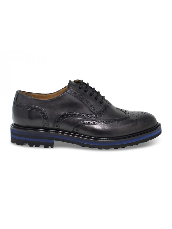 Chaussures à lacets Artisti e Artigiani en cuir gris