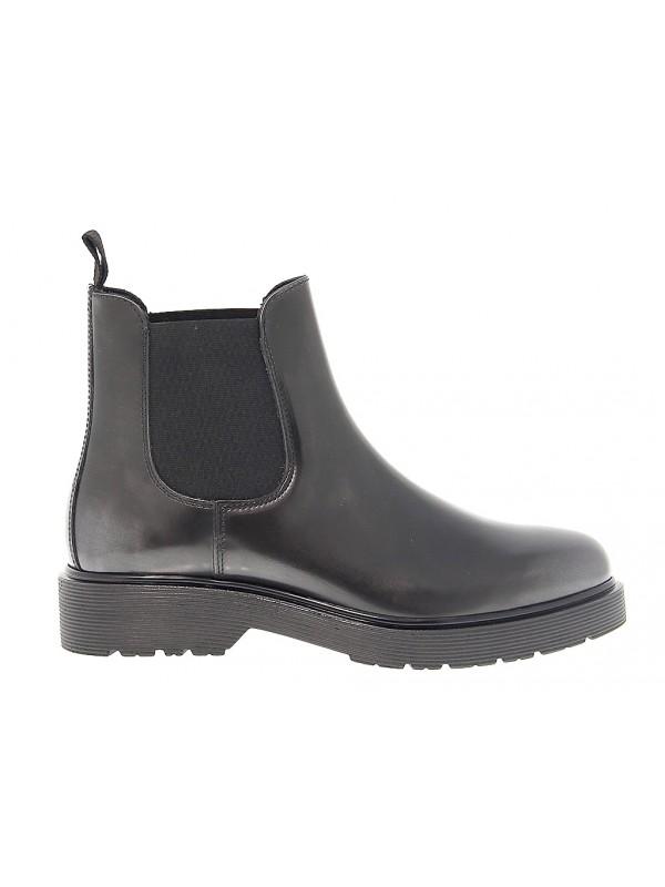 Boots en peau Antica Cuoieria