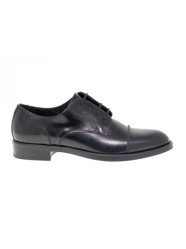 Chaussures à lacets Antica Cuoieria en brossé noir