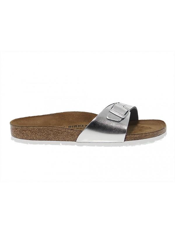 Sandales plates en peau Birkenstock MADRID