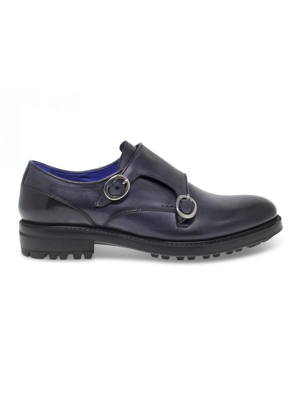 Chaussures sans lacets Brecos en cuir bleu