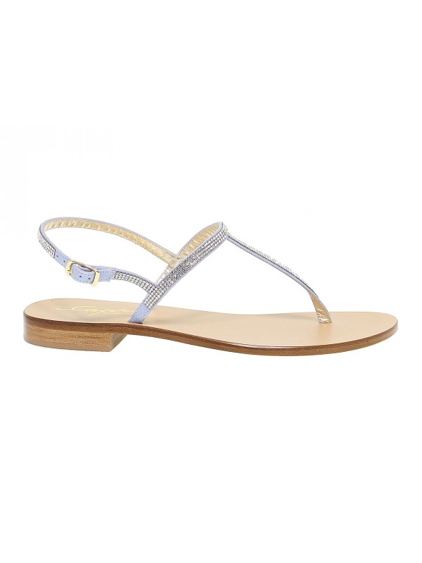 Sandales plates Capri POSITANO