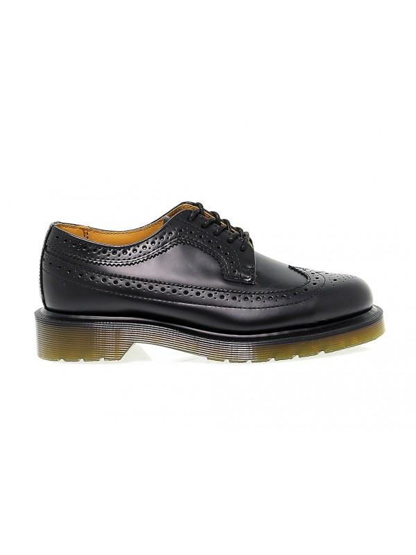 Chaussures plates en peau Dr. Martens 3989