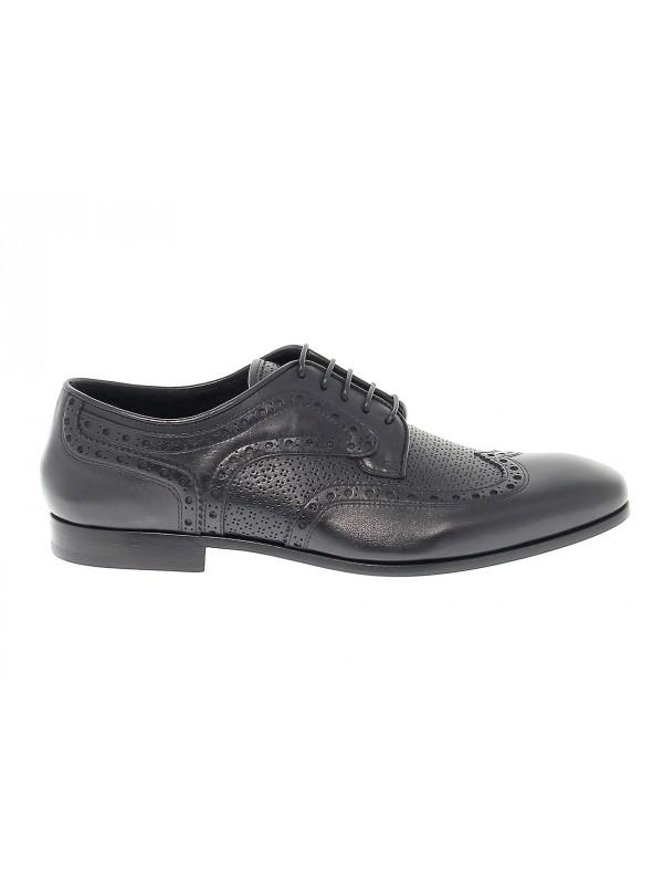 Chaussures à lacets en peau Fabi
