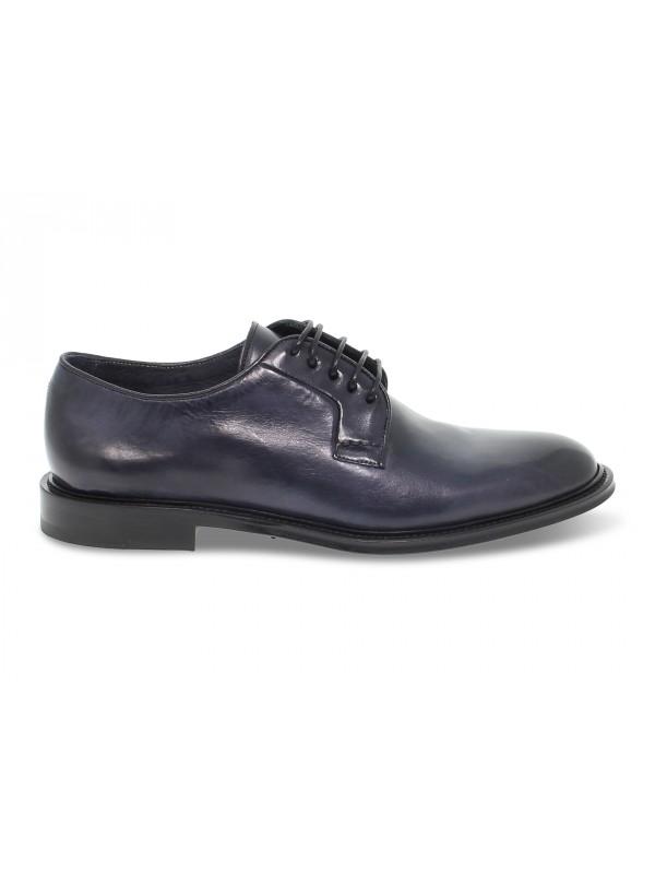 Zapato con cordones Artisti e Artigiani de piel azul