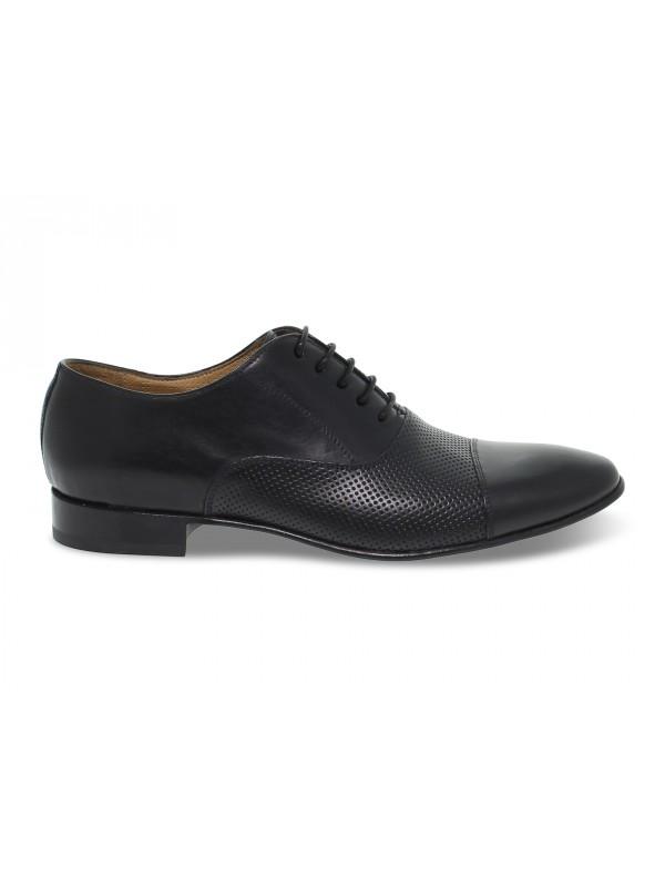 Zapato con cordones Artisti e Artigiani de piel negro