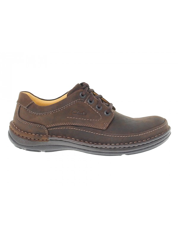 Zapato con cordones de piel Clarks NATURE THREE