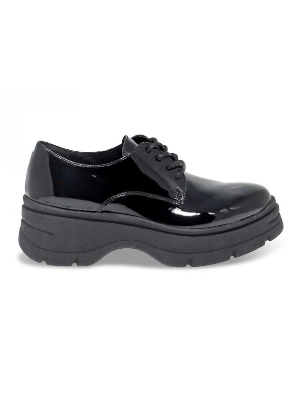 Zapato plano Janet Sport de pintar negro