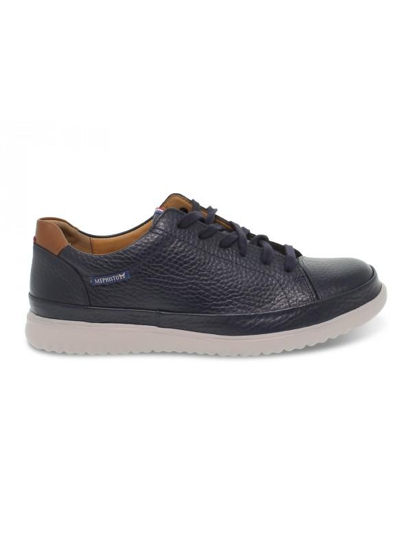 Zapato con cordones Mephisto THOMAS OREGON de piel azul