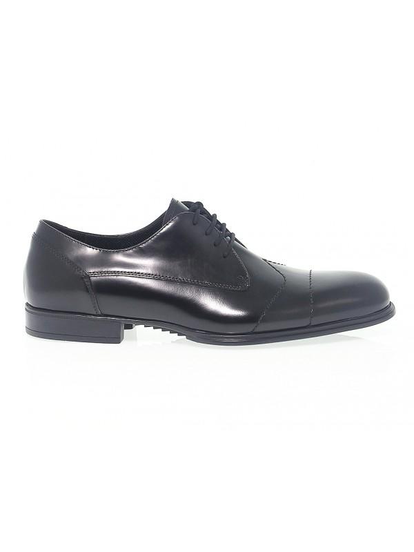 Zapato con cordones de piel Cesare Paciotti