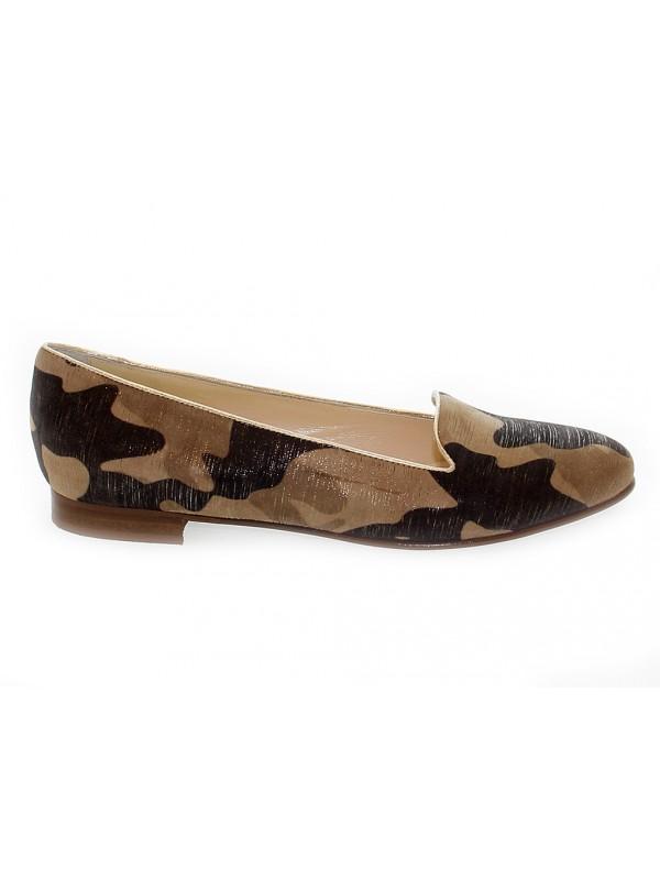 Zapato plano de piel Pitti Linea