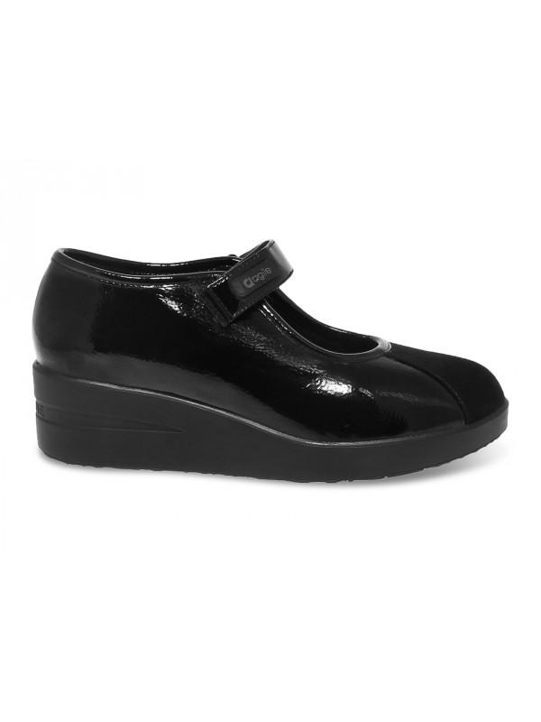 Zapato de salón Ruco Line AGILE de pintar negro
