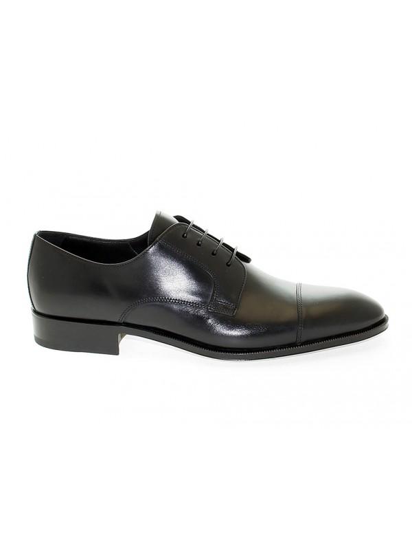 Zapato con cordones de piel Fiore Sassetti