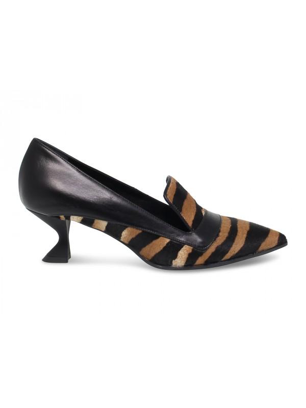 Zapato plano Guido Sgariglia de poni herrumbre
