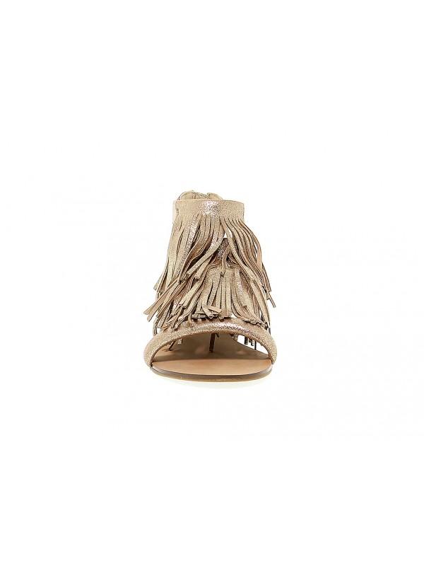 temporal soporte Reducción de precios  Sandalia plana de piel Steve Madden FAVORIT - Guidi Calzature - Nueva  Colección Otoño Invierno 2020 - Guidi Calzature