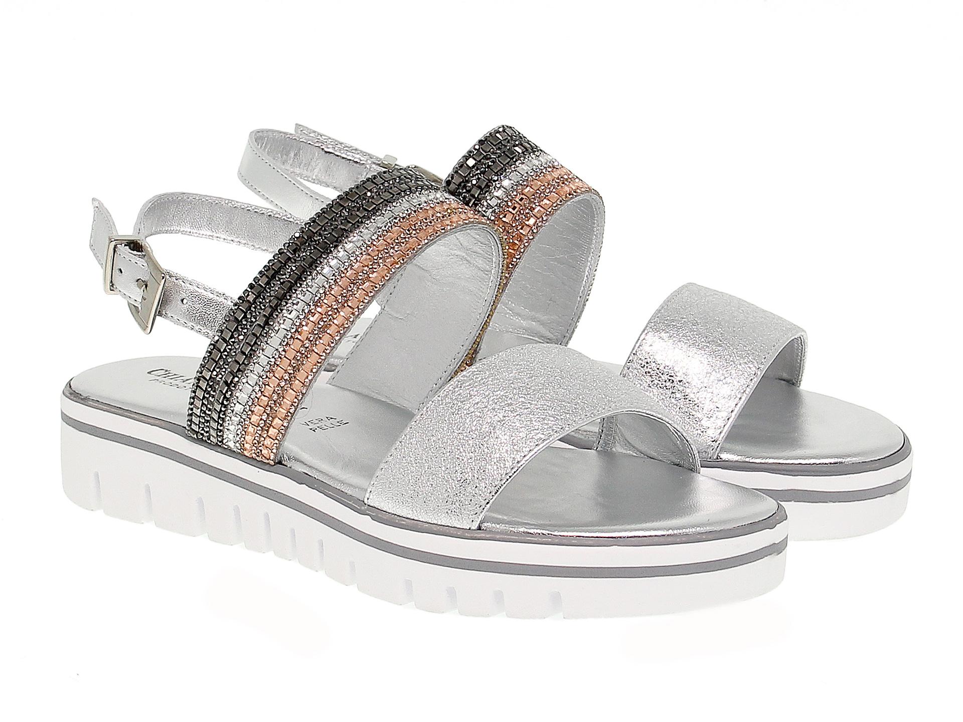 Sandalo basso Pasquini Calzature in pelle  369c09dda70