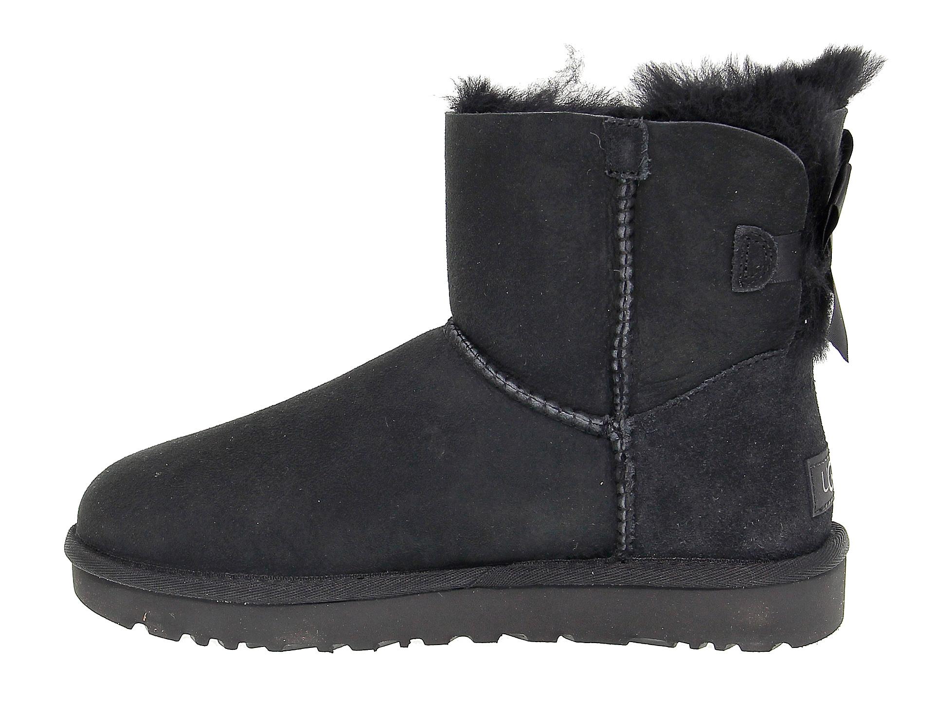 Détails sur Bottines UGG AUSTRALIA 6501 N en chamois noir Chaussures Femme