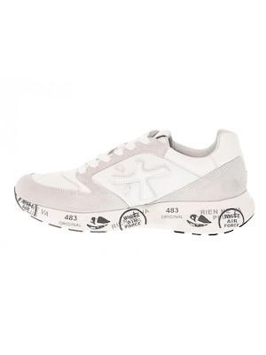 sneakers bianca donna premiata camoscio