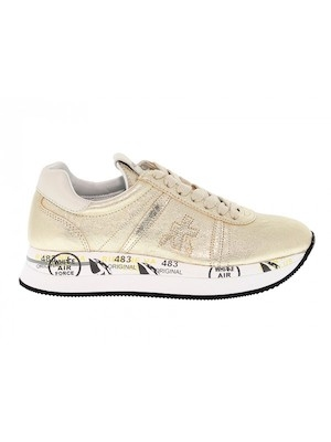 sneakers color platino donna premiata